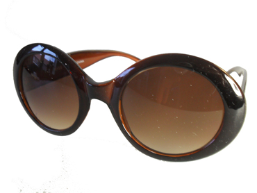 Vintage flower power solbrille - Design nr. 1864