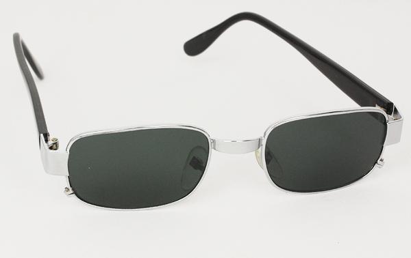 5ef7db6f9637 Billiga Firkantet solbriller solglasögon - Sølv firkantet solbrille ...