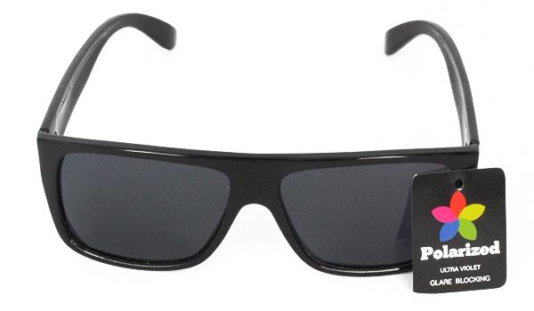 Norges billigste solbriller Sort polaroid solbrille