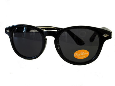 Sort rund wayfarer - Design nr. 514