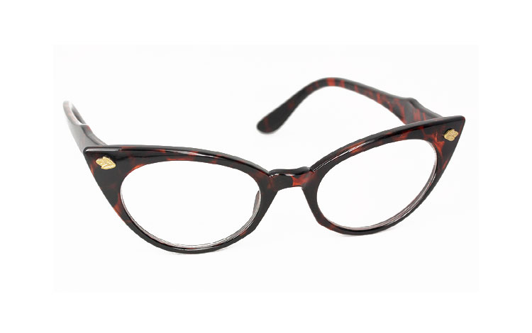 Cateye 50er - 60er brille - Design nr. 3127